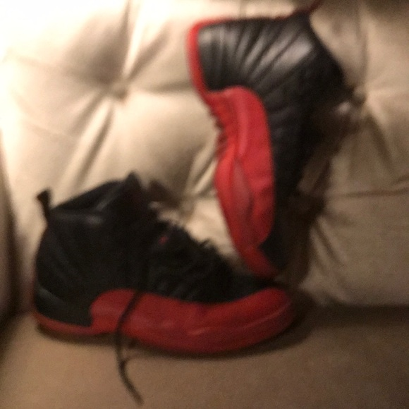 "cheaper 6d76e 09c7a Jordan Two3 Jumpman 12 Retro BG aka ""flu game"""